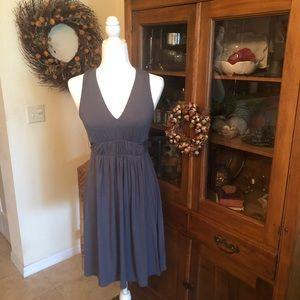 Trulli Casual Gray Halter Dress Size Small